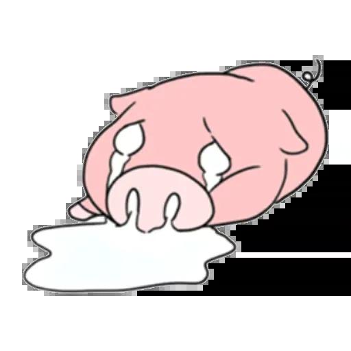 小豬 - Sticker 25