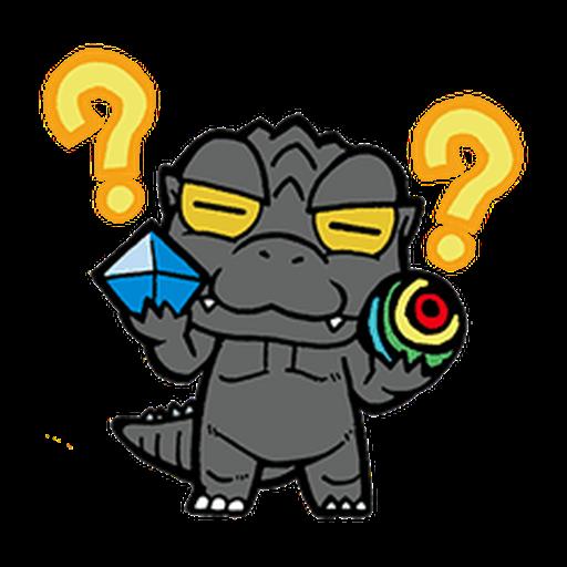 Godzilla - Sticker 3