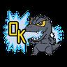 Godzilla - Tray Sticker