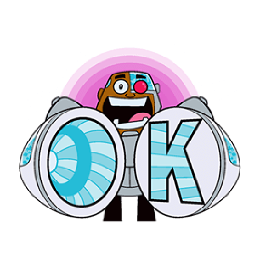 Titans Go - Sticker 19