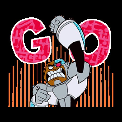Titans Go - Sticker 15
