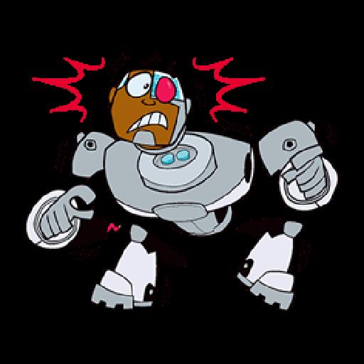 Titans Go - Sticker 30