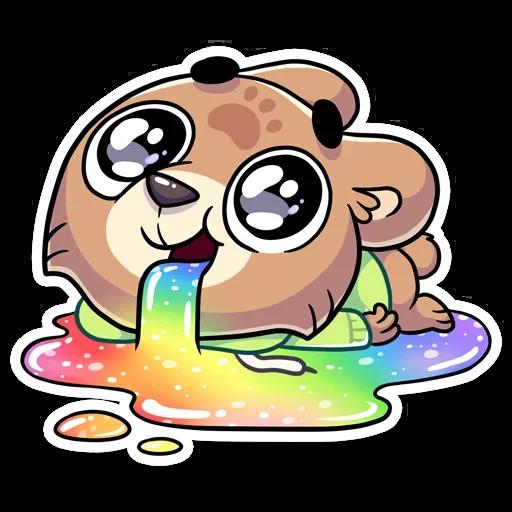 Cute Bear - Sticker 4