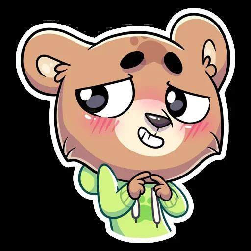 Cute Bear - Sticker 23