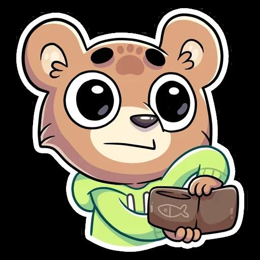 Cute Bear - Sticker 18