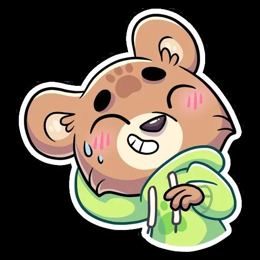 Cute Bear - Sticker 21
