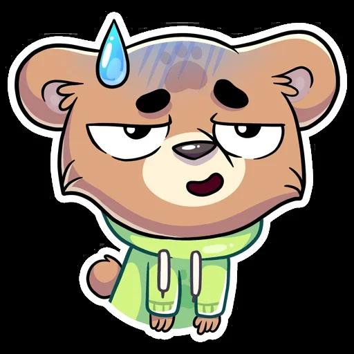 Cute Bear - Sticker 5