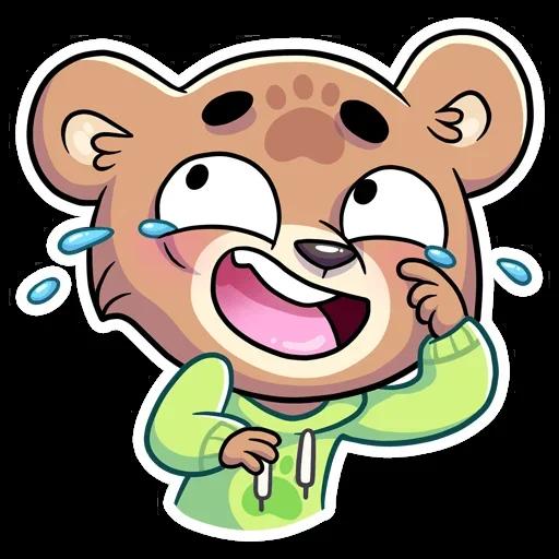 Cute Bear - Sticker 16