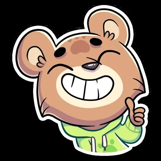 Cute Bear - Sticker 2