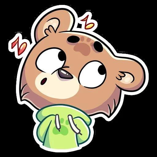 Cute Bear - Sticker 25