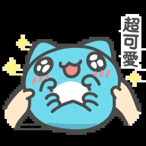 貓貓蟲咖波-開心隨你(上) - Sticker 5