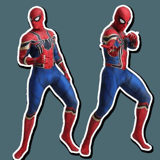 Spiderman - Tray Sticker
