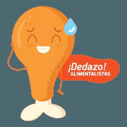 Alimentalistas Costa Rica - Sticker 22