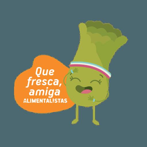 Alimentalistas Costa Rica - Sticker 13