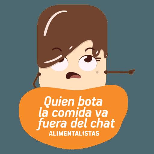 Alimentalistas Costa Rica - Sticker 12