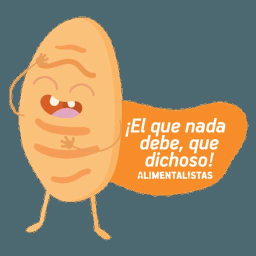 Alimentalistas Costa Rica - Sticker 14