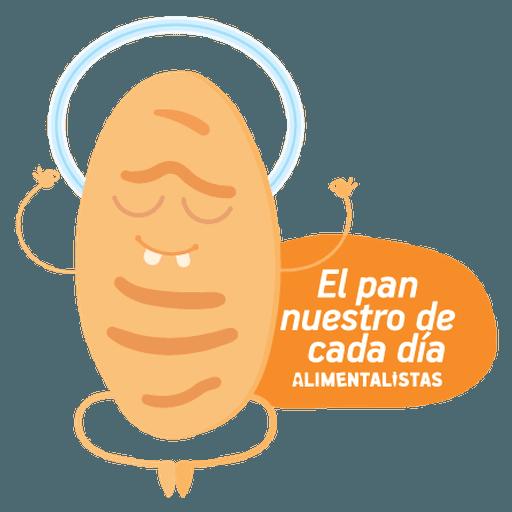 Alimentalistas Costa Rica - Sticker 21