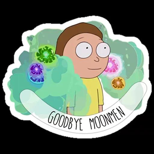 Rick & Morty IV - Sticker 13