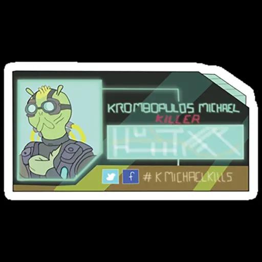 Rick & Morty IV - Sticker 6