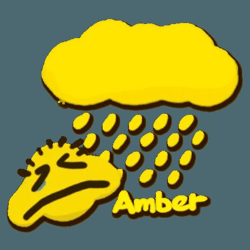 Weather - Tray Sticker