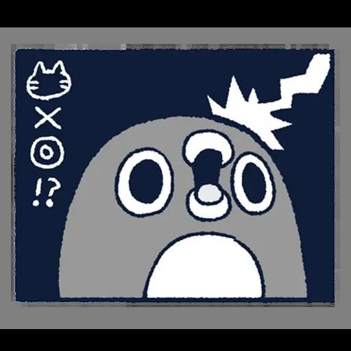 企鵝2 - Tray Sticker