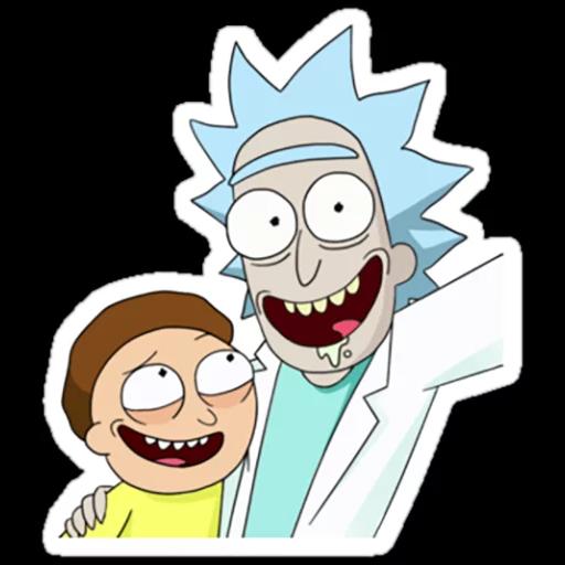 Rick & Morty 3 - Sticker 27
