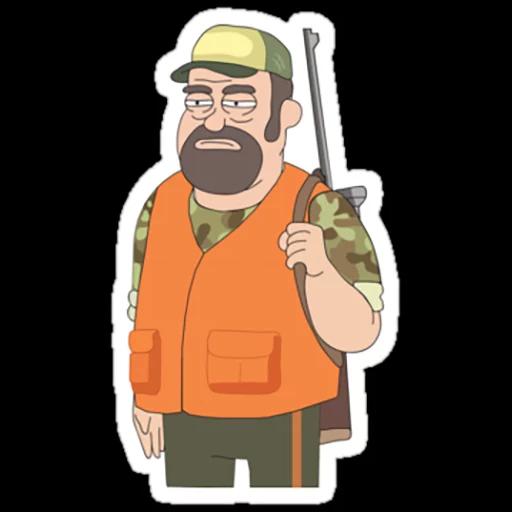 Rick & Morty 3 - Sticker 3