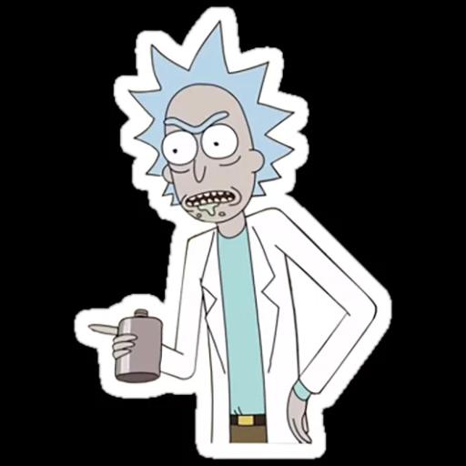 Rick & Morty 3 - Sticker 12