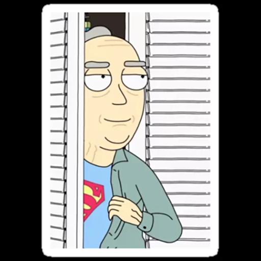 Rick & Morty 3 - Sticker 8