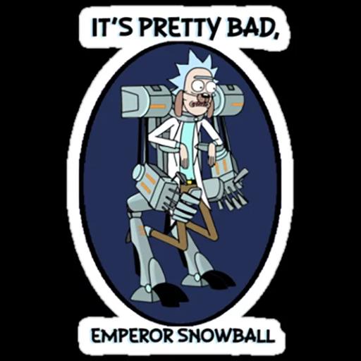 Rick & Morty 3 - Sticker 5