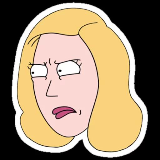 Rick & Morty 3 - Sticker 26