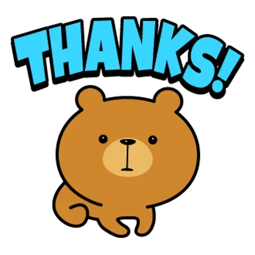 Bear - Sticker 1