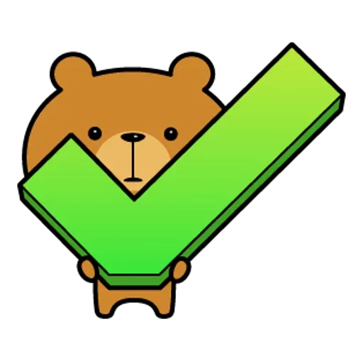 Bear - Sticker 6