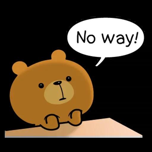 Bear - Sticker 3