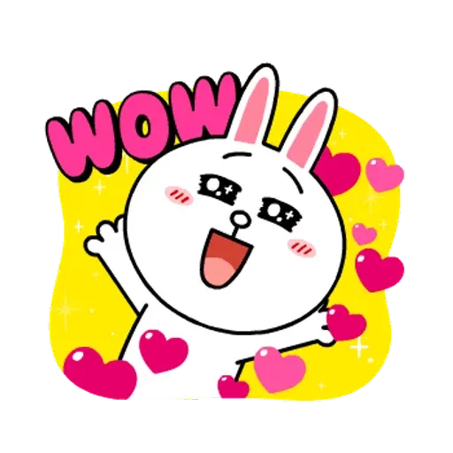 Line friends stickers 1 - Sticker 8