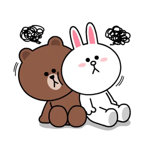 Line friends stickers 1 - Sticker 4