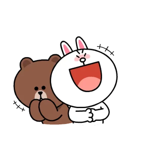 Line friends stickers 1 - Sticker 5