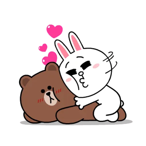Line friends stickers 1 - Sticker 7