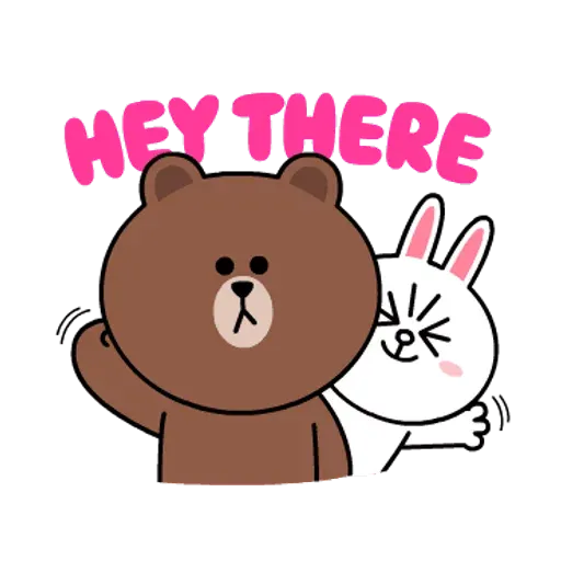 Line friends stickers 1 - Sticker 11