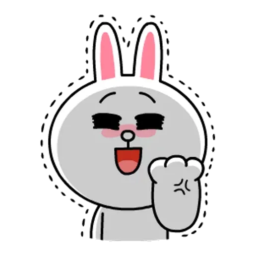 Line friends stickers 1 - Sticker 9