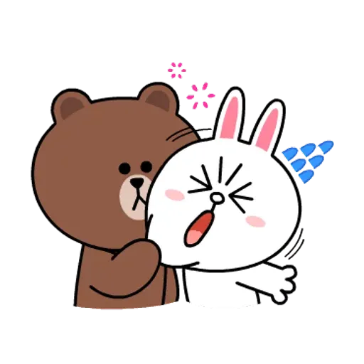 Line friends stickers 1 - Sticker 6