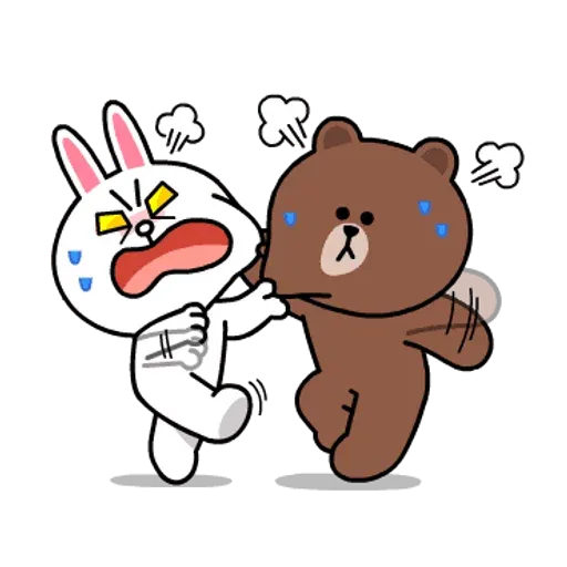 Line friends stickers 1 - Sticker 3