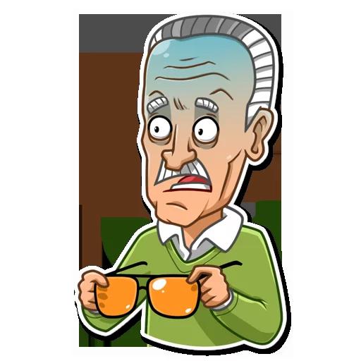Stan Lee - Sticker 3