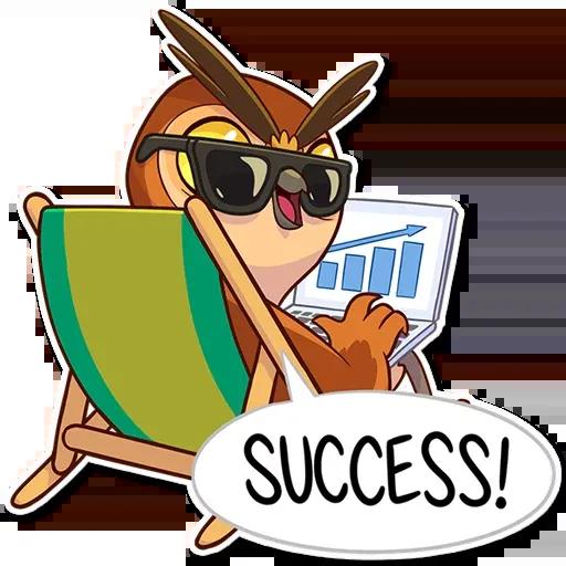 Owl - Sticker 9