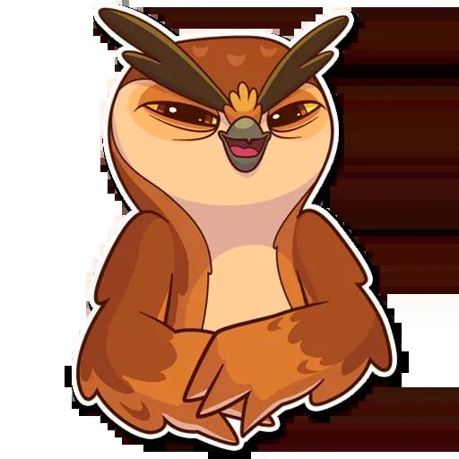 Owl - Sticker 10