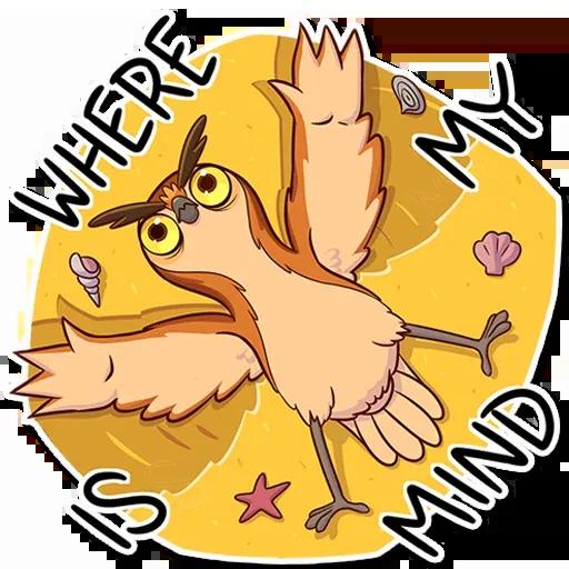 Owl - Sticker 13