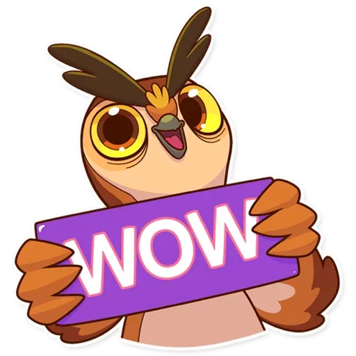 Owl - Sticker 5