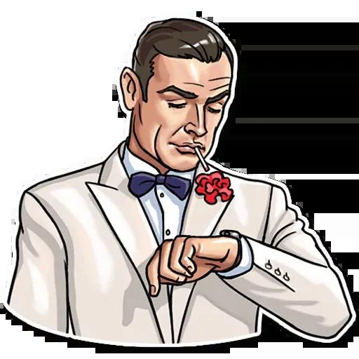 James Bond - Sticker 12