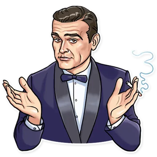 James Bond - Sticker 18