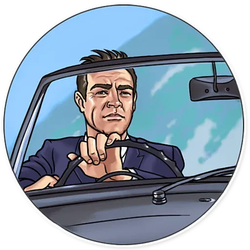 James Bond - Sticker 17